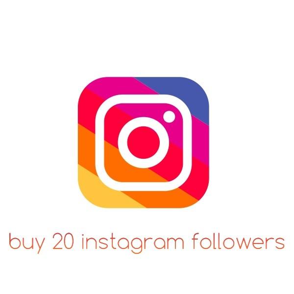 Buy 20 Instagram followers